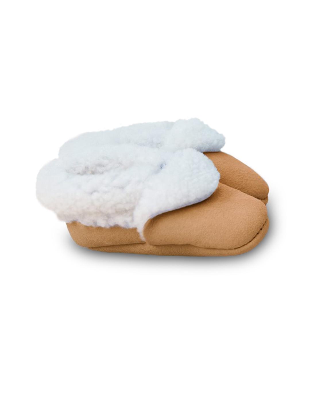 Sheepskin Baby Pram Shoes