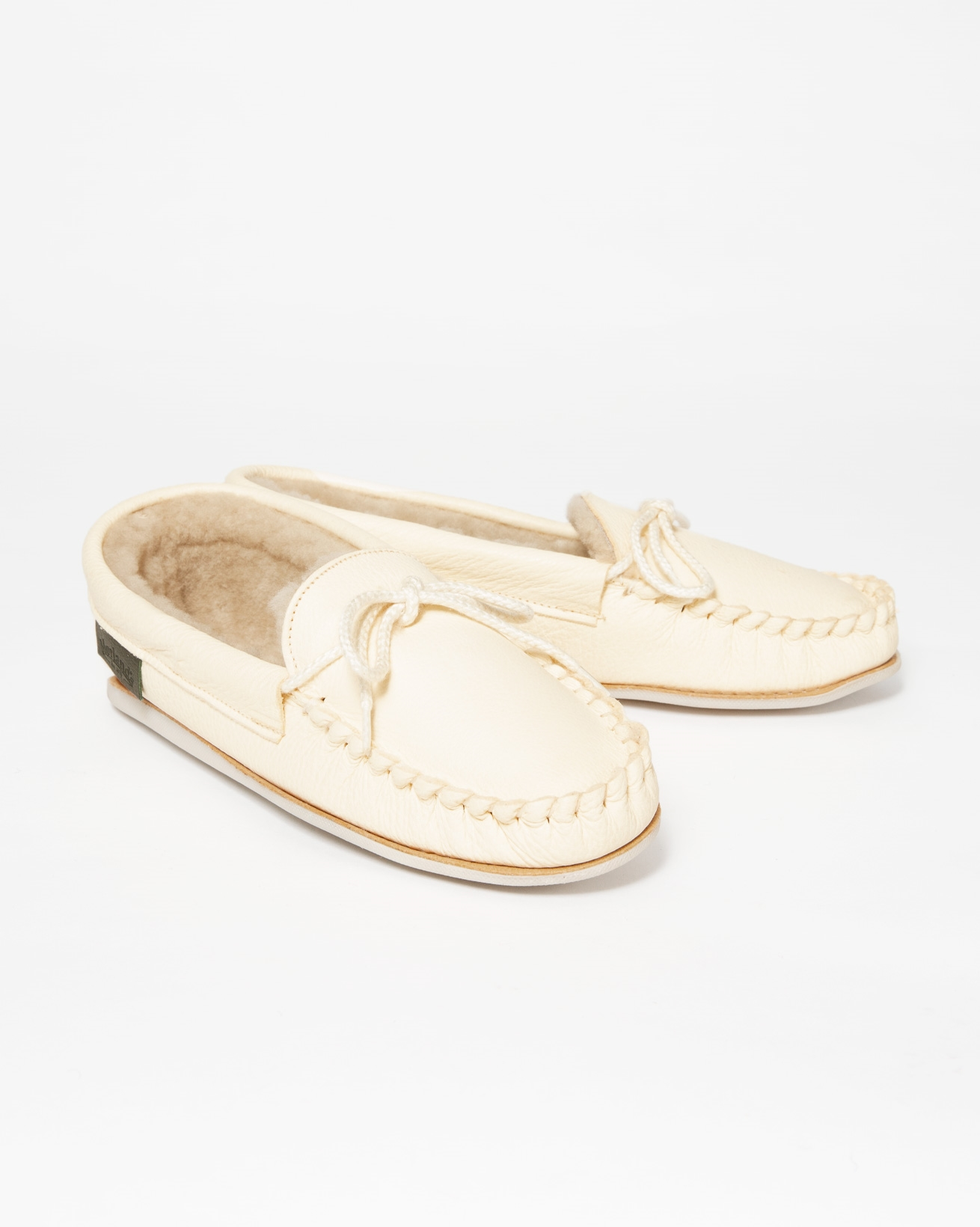 Ladies Dawson Slipper - Size 4 - Cream