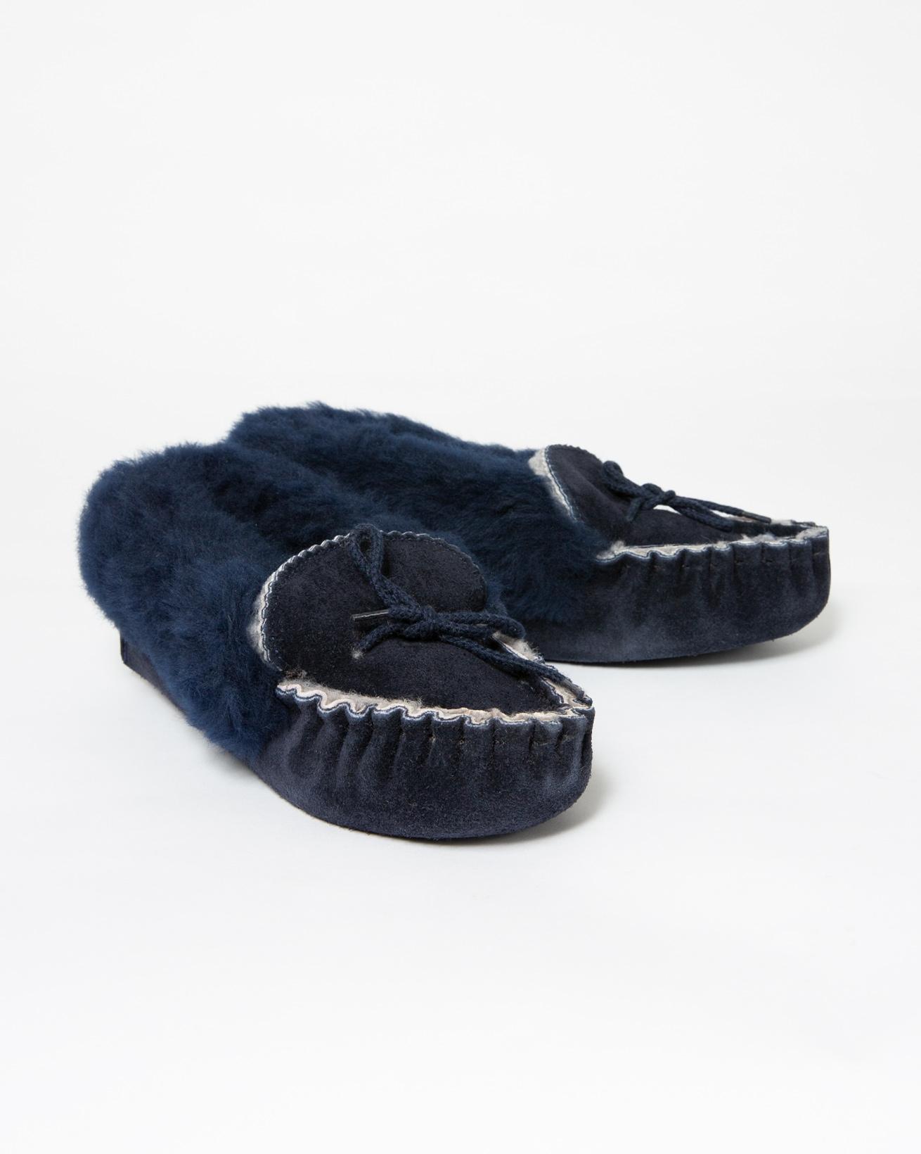 Ladies Skye Slipper - Size 4 - Navy