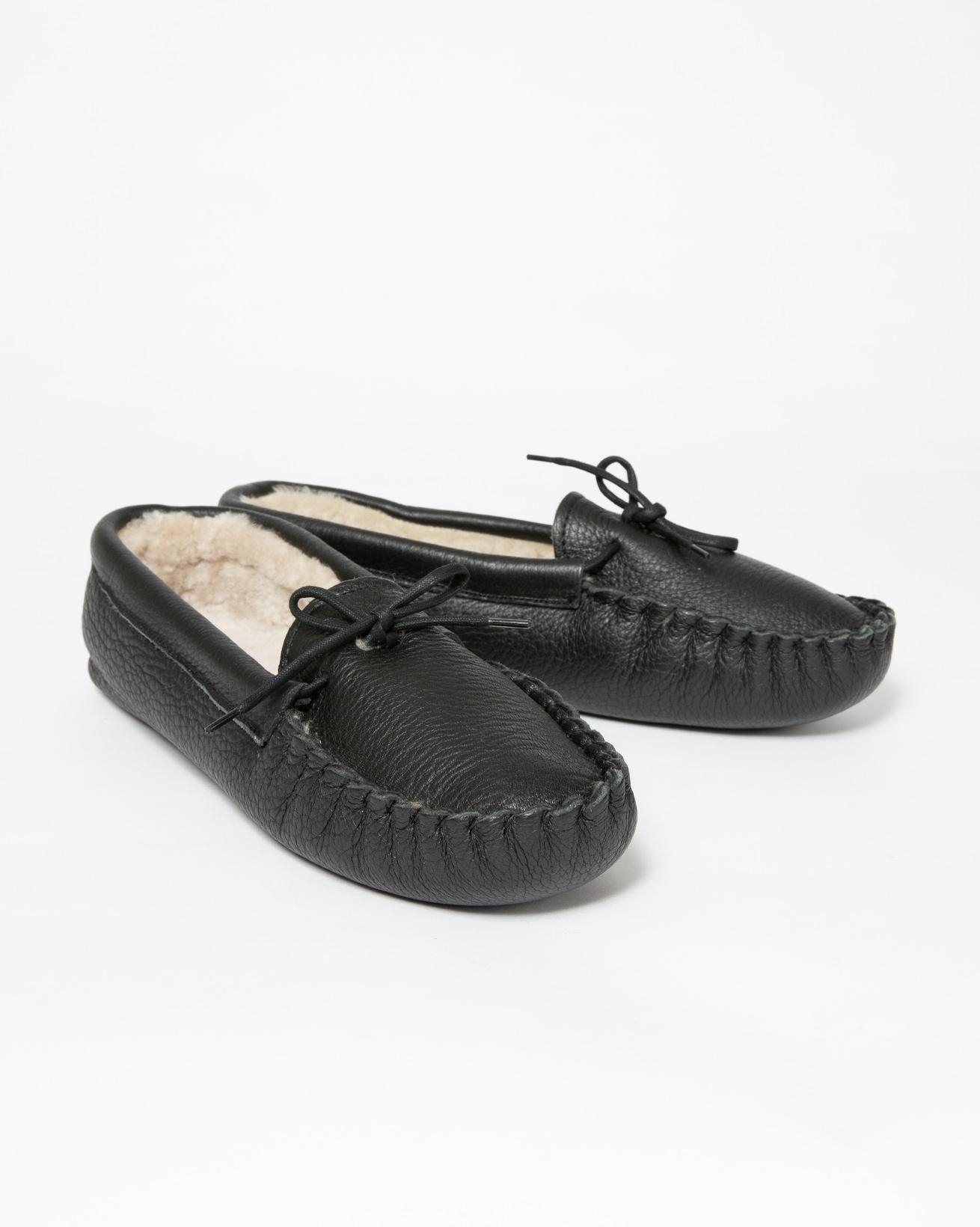 Mens Yukon Slipper - Size 12 - Black