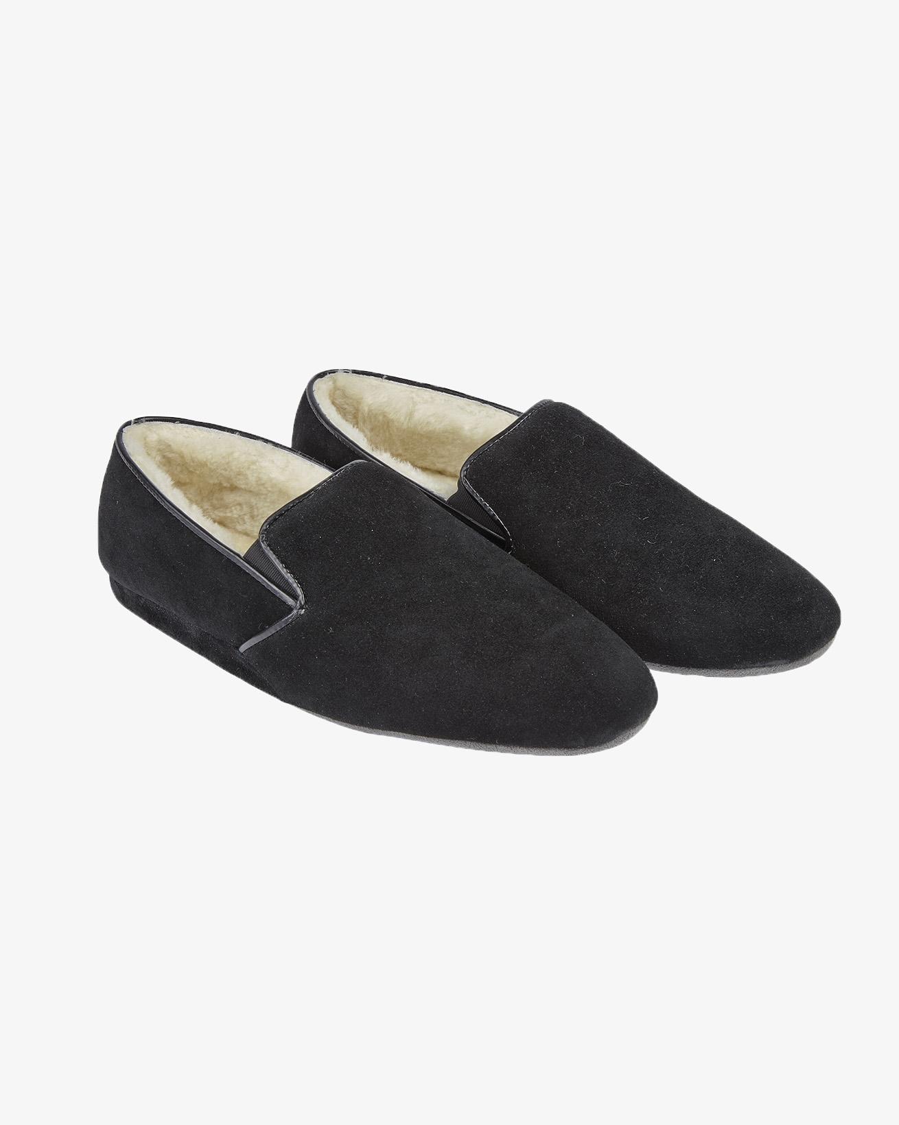 Ladies Cromarty Slipper - Size 7 - Black
