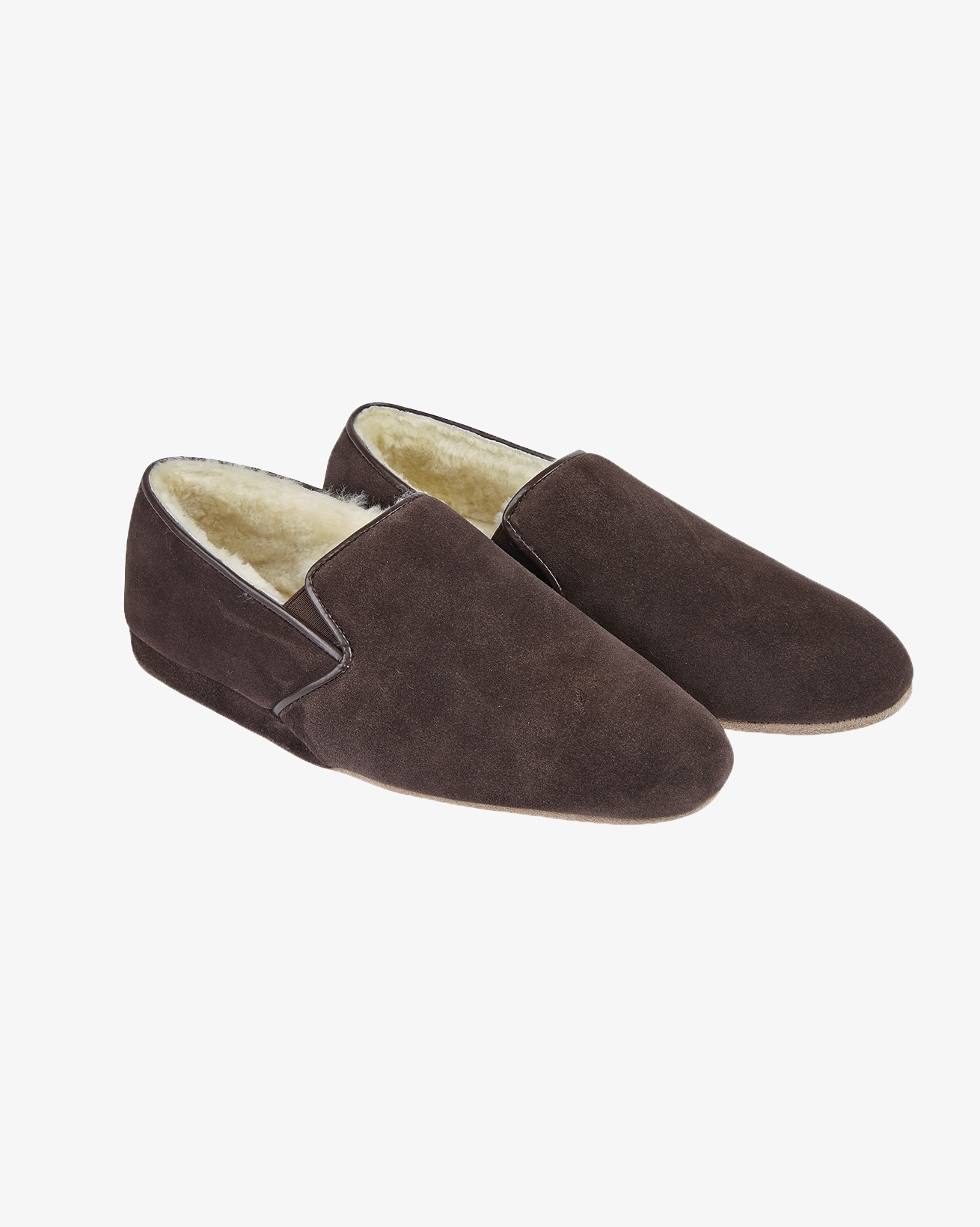 Ladies Cromarty Slipper - Size 7 - Brown