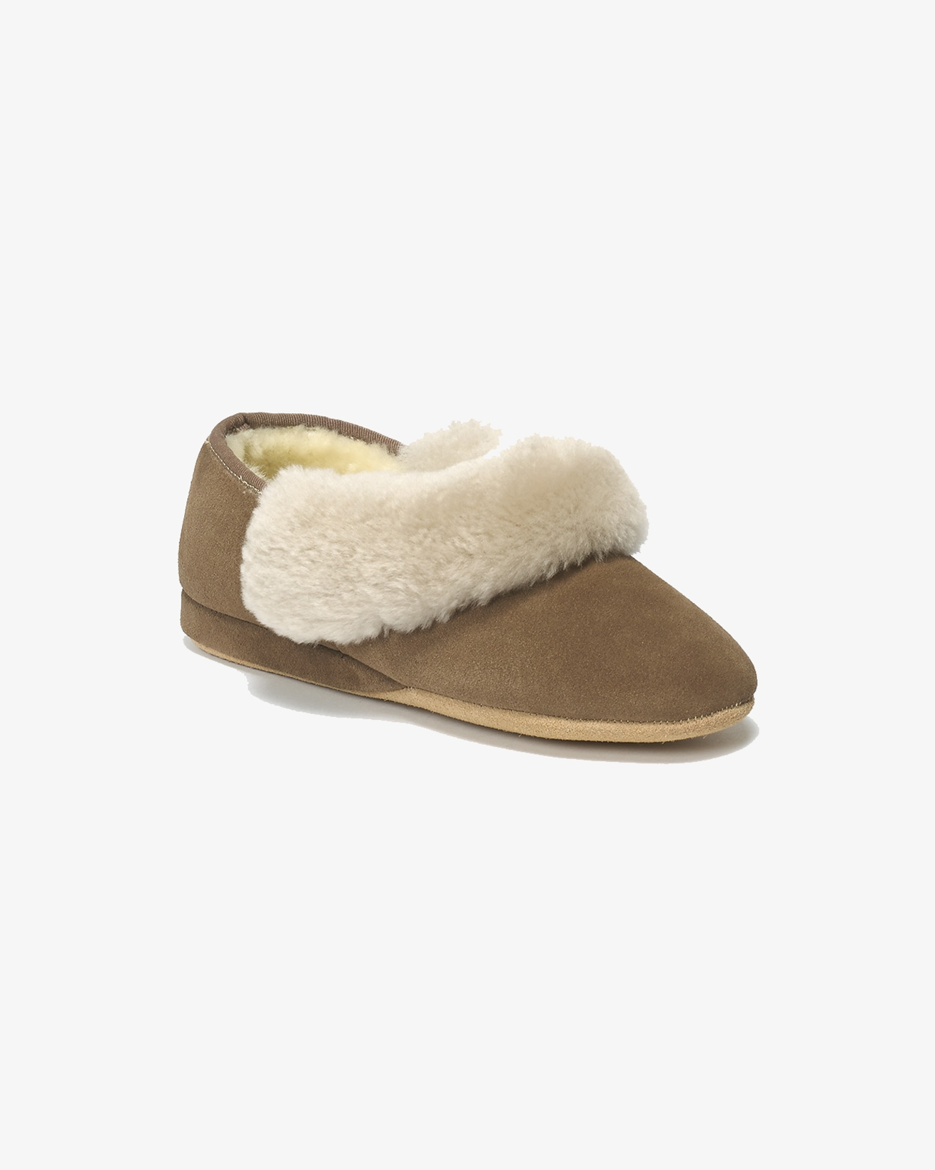 Ladies Strathmore Slipper - Size 7 - Mole