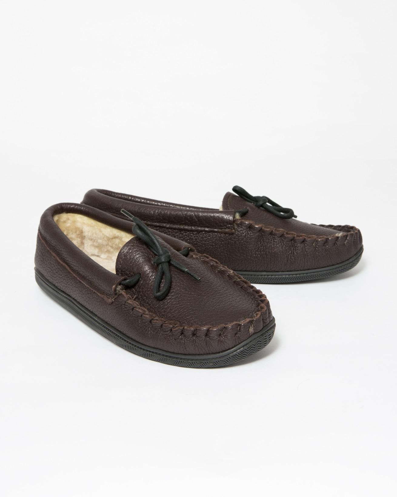 Huron Slipper - Size 6 - Brown