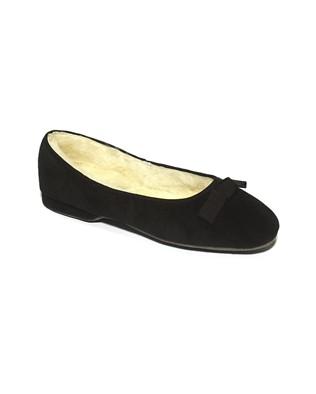 Ladies Ballerina Slipper - Size 4 - Black - 43