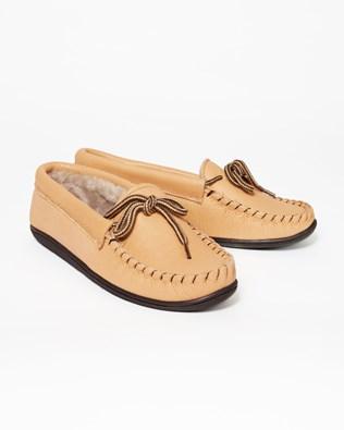 Ladies Dawson Slipper - Size 5 - Tan - 41