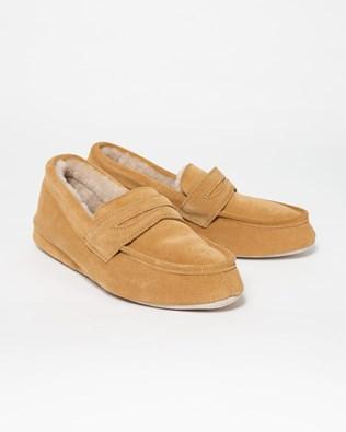 Ladies Denver Slipper -  Size 4 - Honey