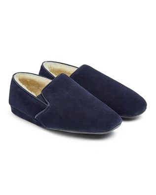 Ladies Cromarty Slipper - Size 7 - Navy - 42