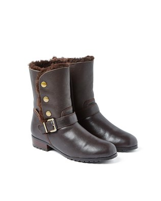 Ladies Tara Boot - Size 4 - Brown - 49